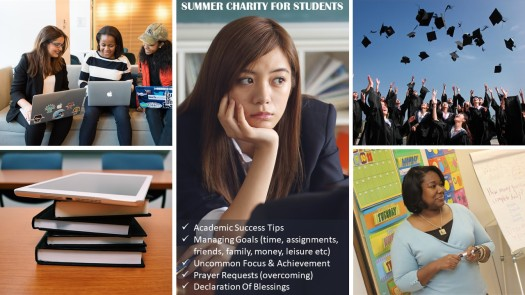 Summer Charity Students