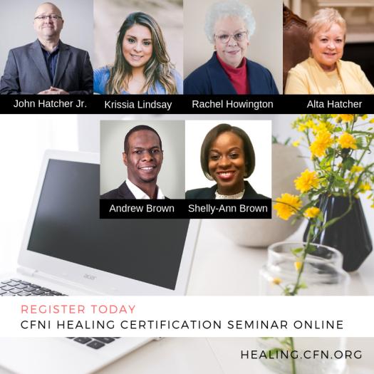 online healing certification